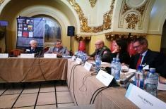 "Учешће потпуковника др Миљана Милкића на конференцији ""The Year of 1916 and the Impact on the World War Dynamics. Romania's Entry into the Great War"
